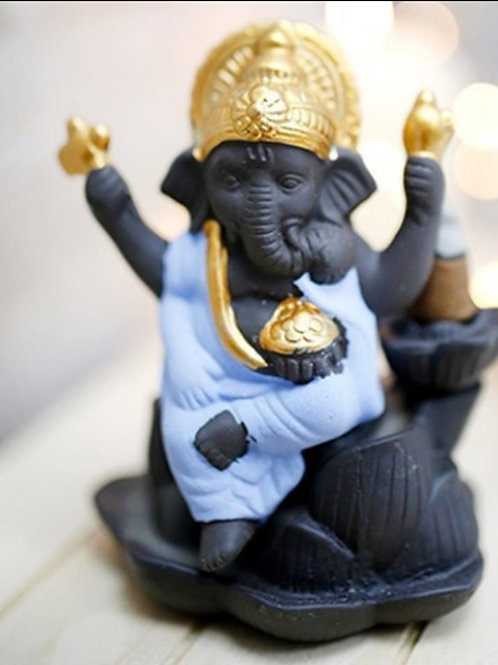 Fuente Incienso Reflujo Ganesha (Incluye Incienso)