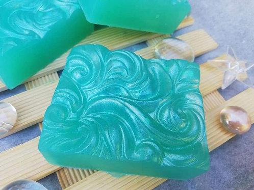 Jabón Olas (Aceite de Almendras y Aroma de Lavanda)