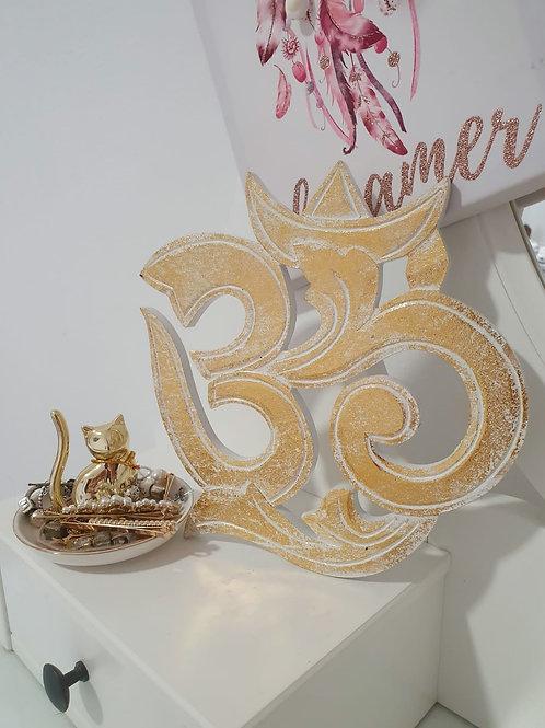 Om Brillo Dorado (20cm)