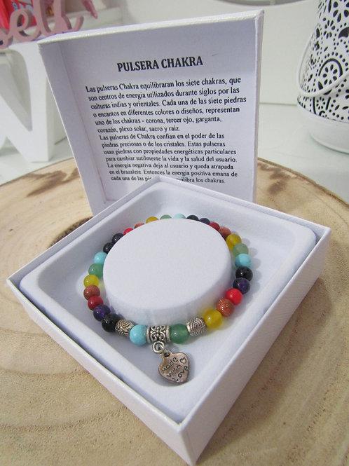 Pulsera 7 Chakras (Caja)