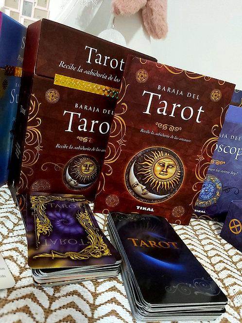 Caja Libro + Baraja Tarot