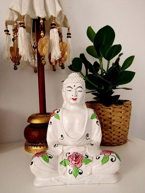 Budha Blanco Flores