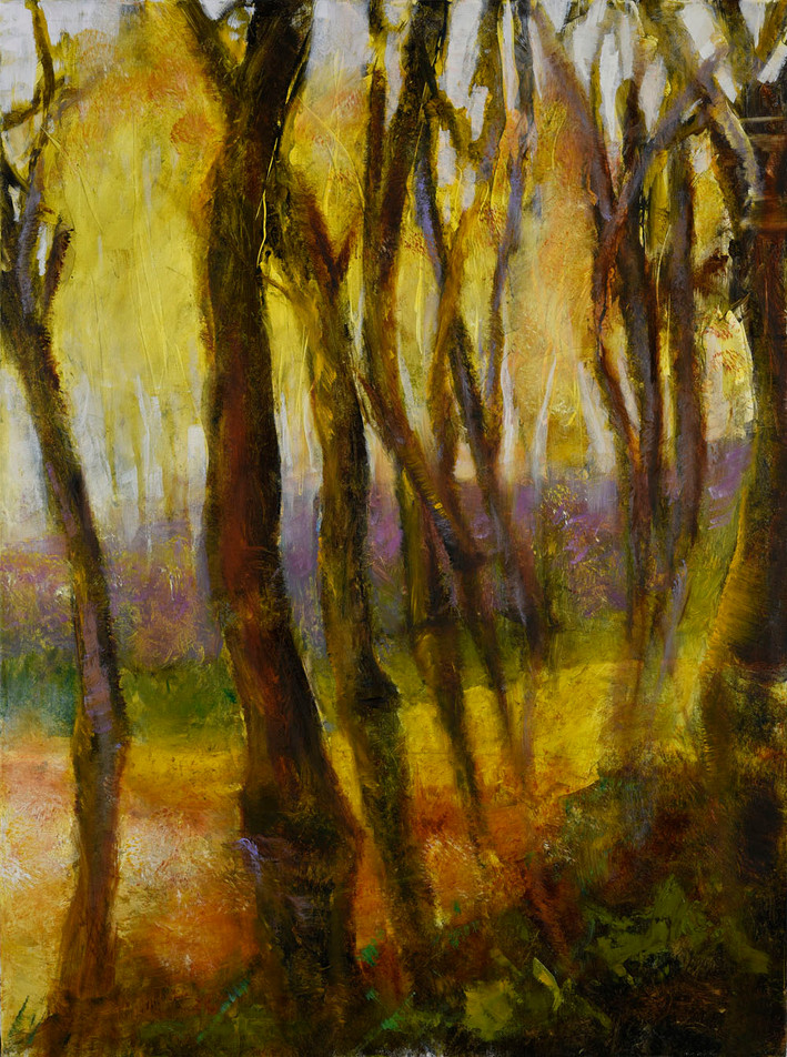 16. Path through the golden forest #2