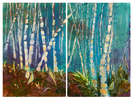 Birch Forest #1 #2