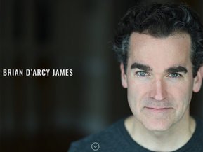 A streamlined, image-rich site for a busy actor