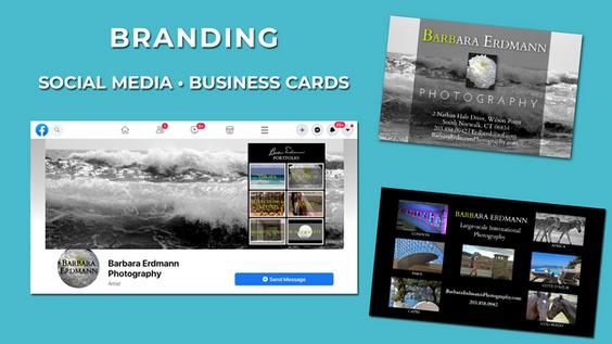 Branding - social media, biz cards