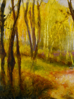 15. Path through the golden forest #1