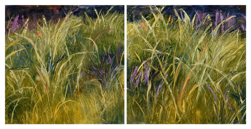 Rushes in the Wind #1 and #2