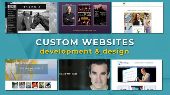 Custom Websites graphic