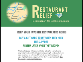 Pop-up Wix site for Covid-19 relief efforts