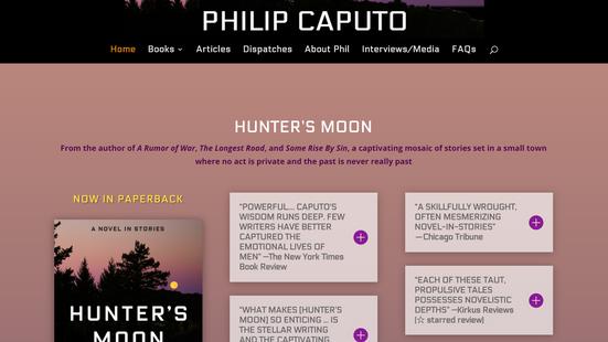 Philip Caputo author site