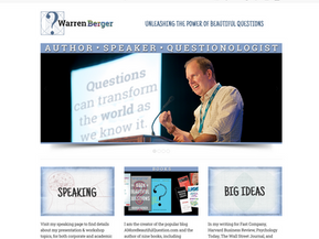 Main hub site for active author & speaker