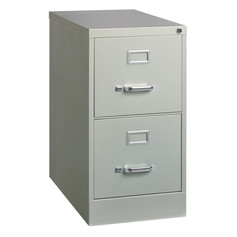 2 Drawer Steel Vertical File