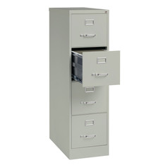 4 Drawer Steel Vertical File