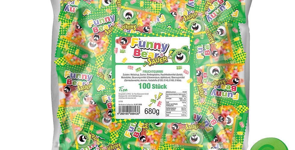 Funny Bear Sauer 100 Stück