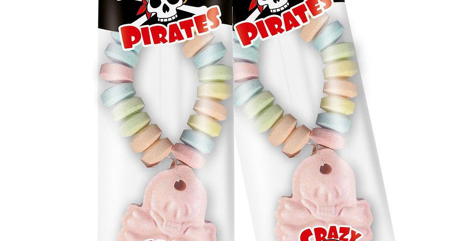 Crazy Pirates Armbänder 50 Stück