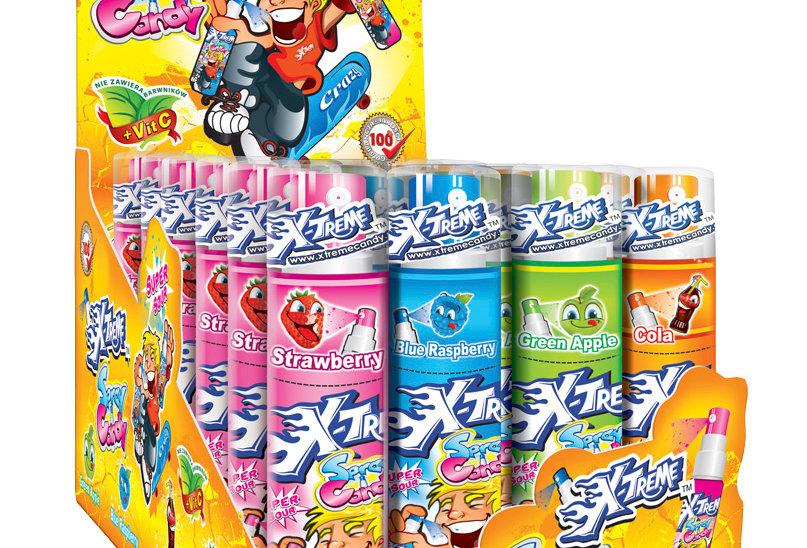 X-Treme Candy Spray 24 Stück