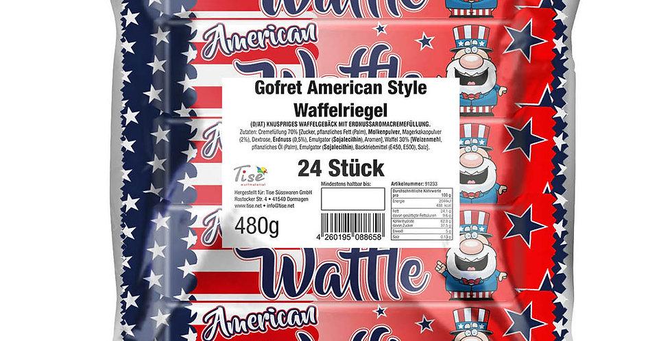 American Waffel 24 Stück