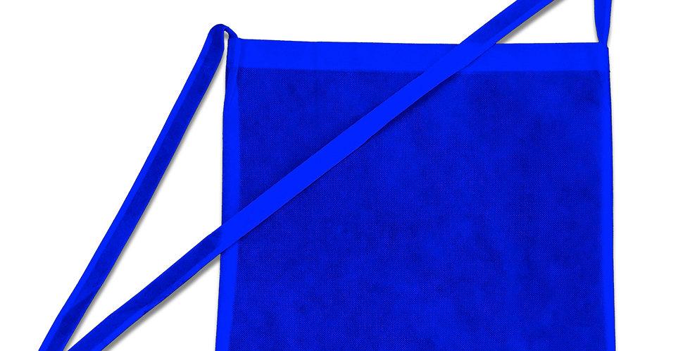 Umhängetaschen Wurfbeutel für Wurfmaterial in blau 1 Stück