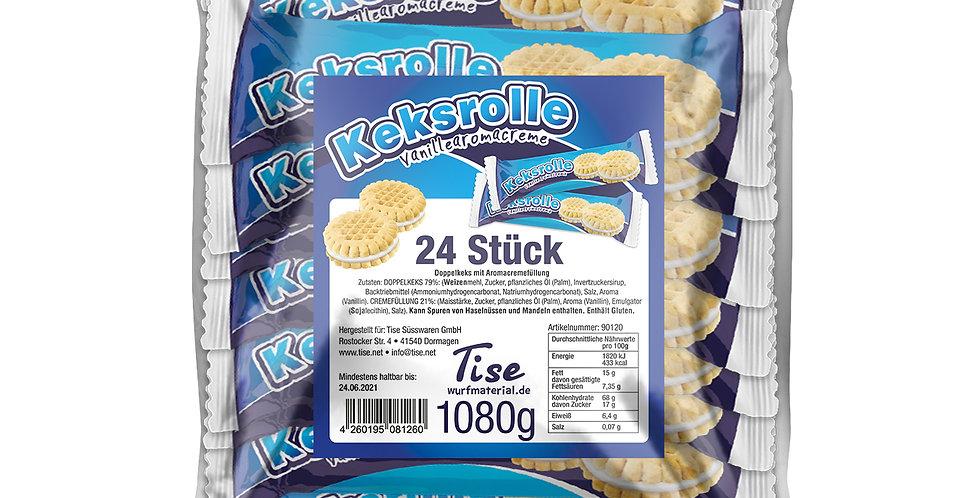 Keksrolle XL 24 Stück