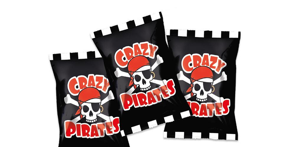 Crazy Pirates Caramellis 400 Stück