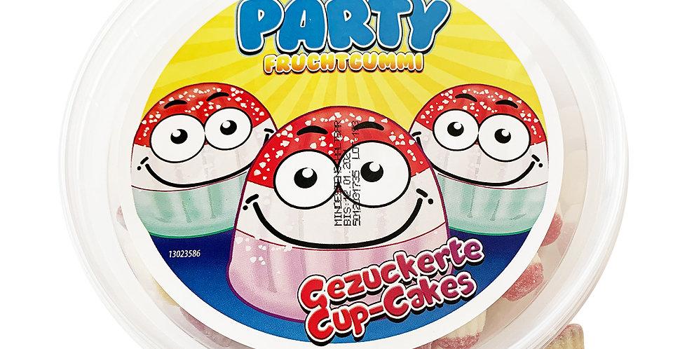Gezuckerte Cup Cakes Fruchtgummi