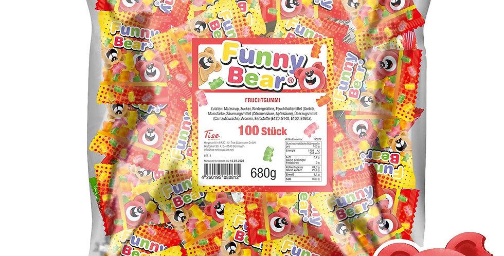 Funny Bear Fruchtgummi 100 Stück