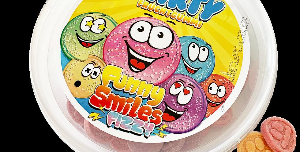 Funny Smiles Fizzy Fruchtgummi