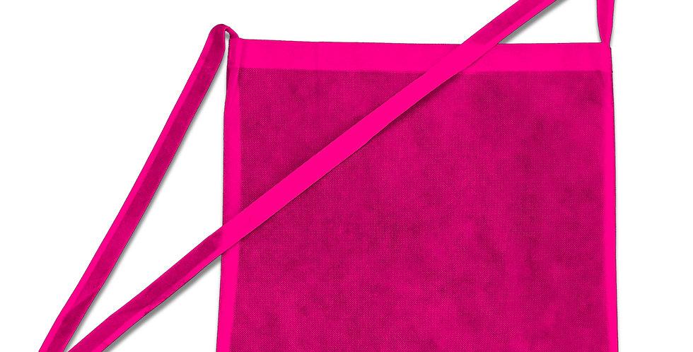 Umhängetaschen Wurfbeutel für Wurfmaterial in pink 1 Stück