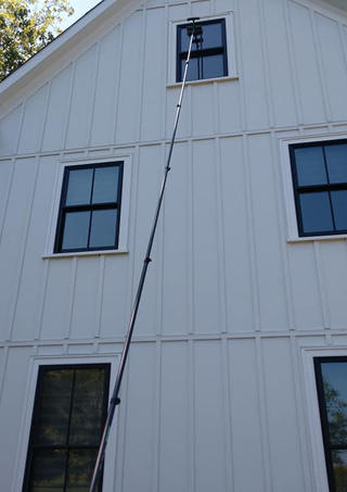 Two Story Window Cleaning