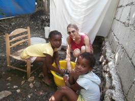 Wash Day Haitian Style