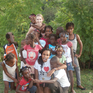 Haitians have so little material things ... yet the immaterial things they have are priceless and beyond words ... love, laughter, community and a strength of spirit like I have never witnessed before!