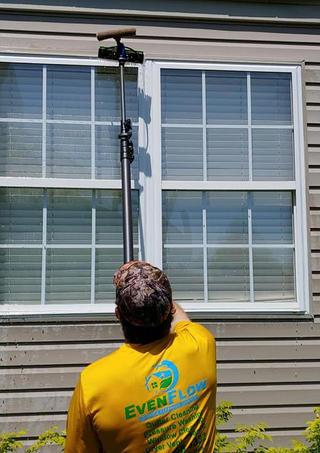 "<img src=""waterfedpole.jpeg"" alt=""Washing windows with waterfed pole "">"