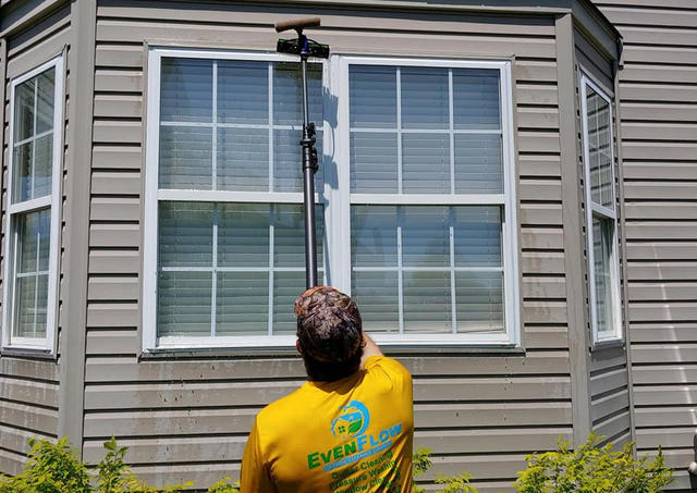 Shine On With Even Flow Window Cleaning