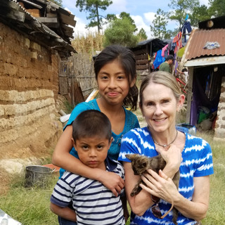 Guatemala 2019 - we laid down two earthen floors and began building 17 water cisterns in a small Mayan community called El Carrizal.