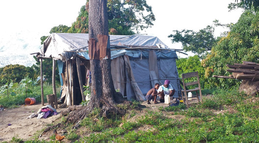 A Typical Haitian Home