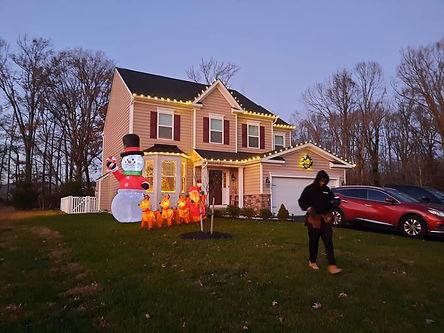 """<img src=""""Christmasdisplay.jpeg"""" alt=""""Frosy yard display for Christmas"""">"""