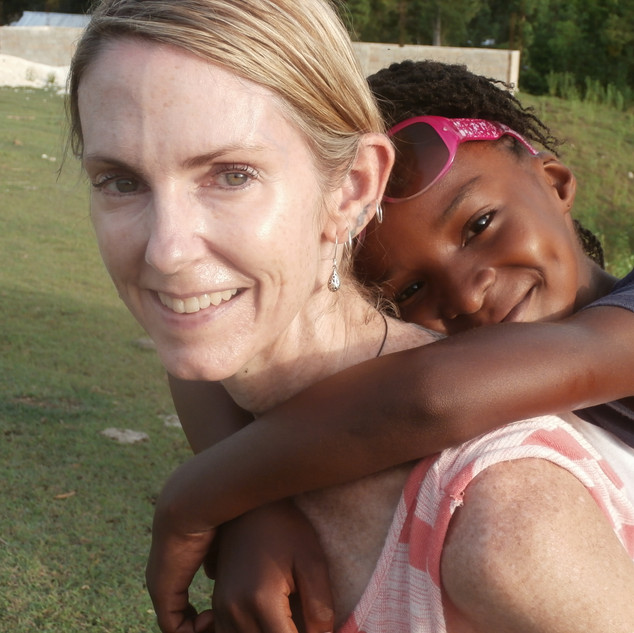 My bestie Calenda ... a young girl with a heart the size of a mountain!