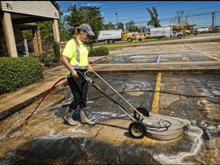 Delaware Parking Lot Washing