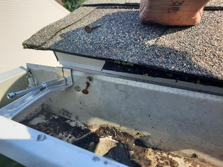 Buying A New Home In Delaware, have you checked the gutter system?