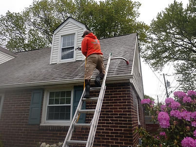 """<img src=""""roofwashing.jpeg"""" alt=""""Cleaning mold off roof with soft washing roof cleaning"""">"""