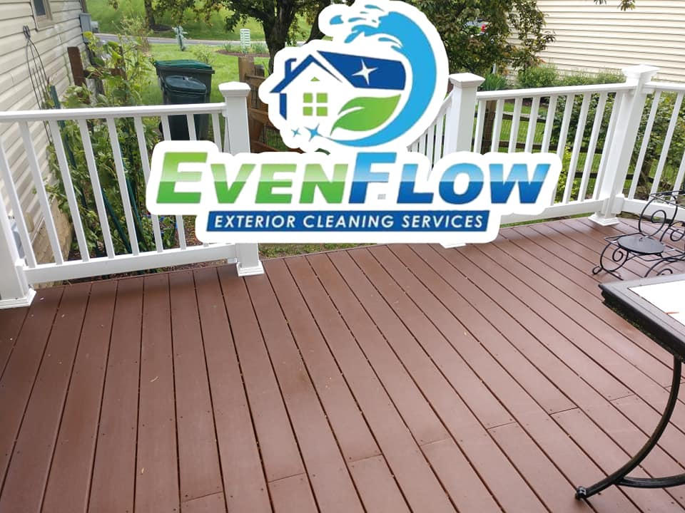 Deck Cleaning For Summer BBQ
