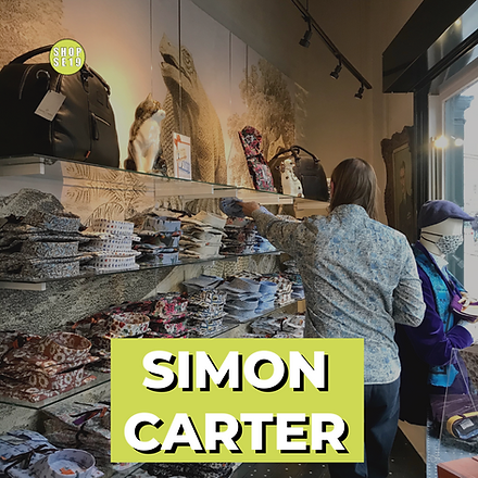 Simon Carter menswear shirts