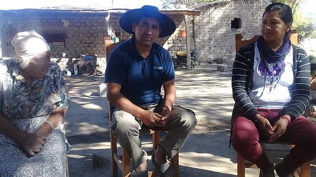 Testimonio de Guitierrez Jacinto y familia.