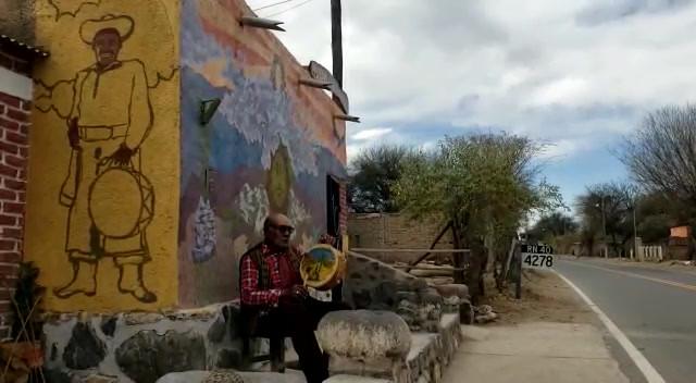 La Flor de Cardón - Interpretada por Don Eusebio Mamaní (Bagualero y cantor Vallisto de Fuerte Quemado, Catamarca), dedicada al Padre Demetrio.OSA.