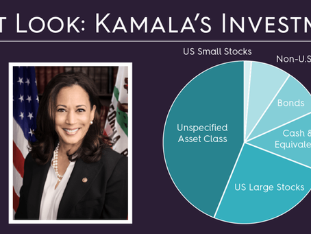 First Look:  Kamala's Investments
