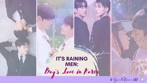 It's Raining Men: Boys' Love in Korea