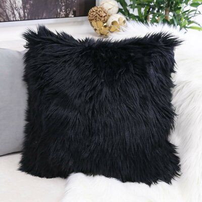 Everly Quinn Robbin Shaggy Faux Fur Thro