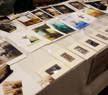 I had a showcase table at IX 2019