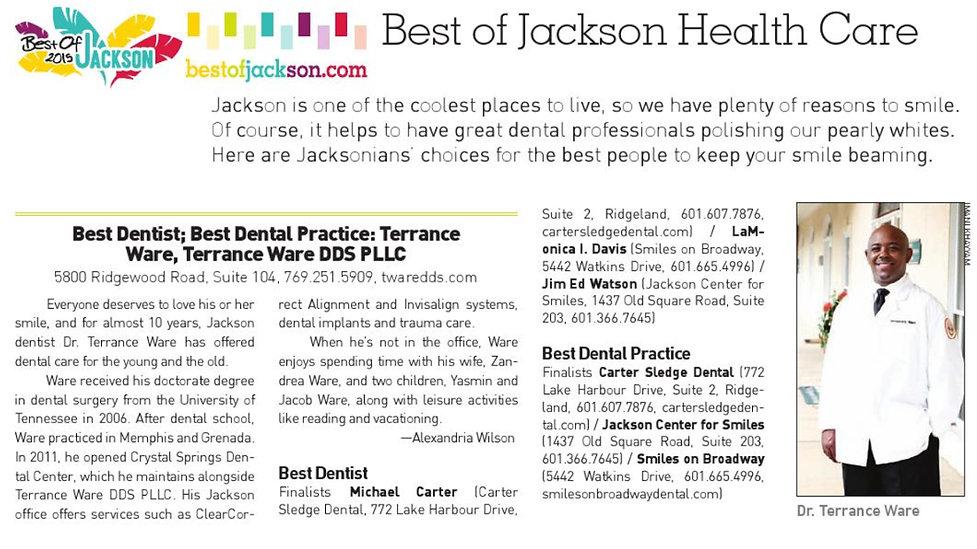dentist in jackson ms